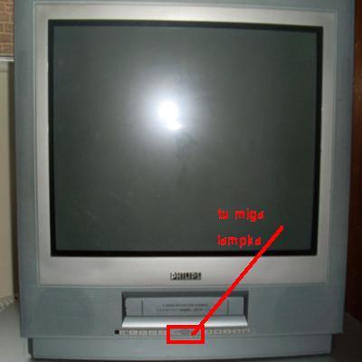 Philips 21PV908 problem z VCR